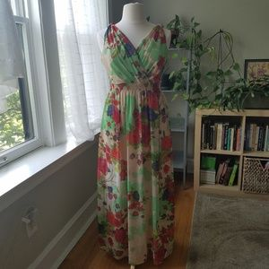 Dorothy Perkins Floral Maxi Dress